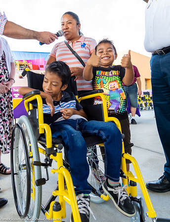 2019 Tamaulipas Wheelchair Distribution