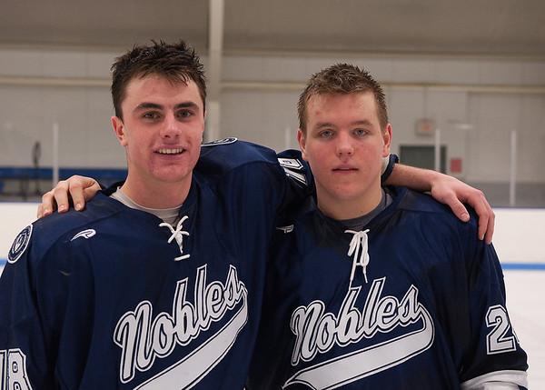 2/28/2009 Nobles Boys Varsity Hockey vs Milton