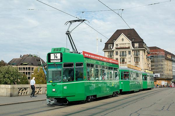 29th September 2014: Switzerland Day 1-Basel Trams