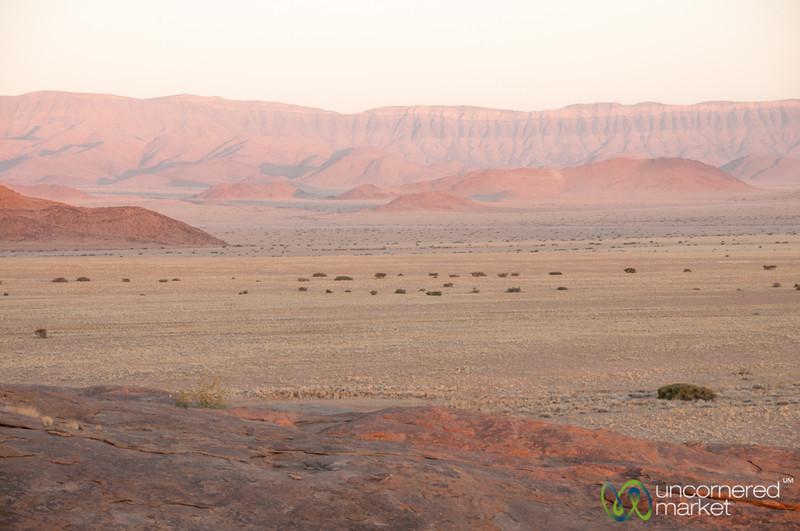 Sunset in the Namib Desert - Namibia