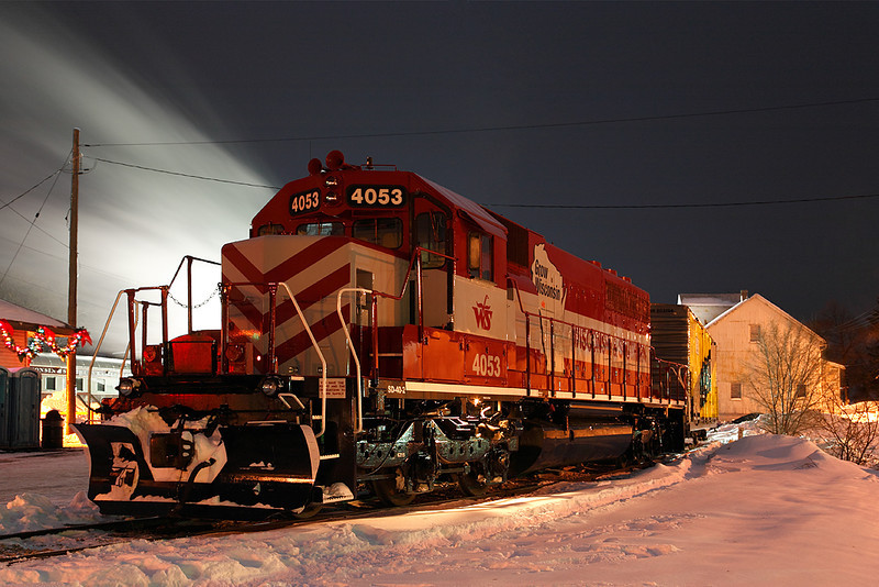 Wisconsin & Southern 4053 (EMD SD40-2) - Plymouth, WI