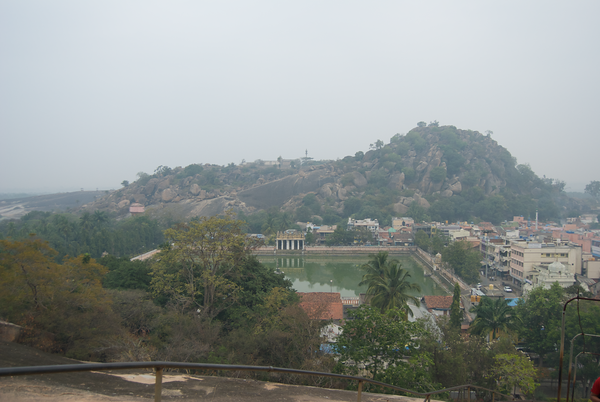Vindhyagiri Hill outside Mysore, India