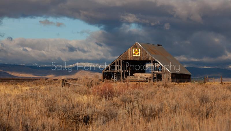 Quilt Barn #4 ~ Sierra Valley ~ California