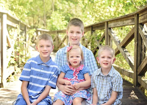 Joshua, Ethan, Zachary & Rose {JDRF mini}