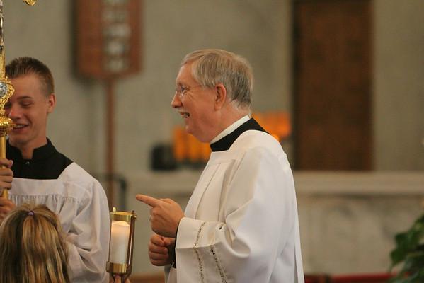 Notre Dame All-School Mass 9-5-2012