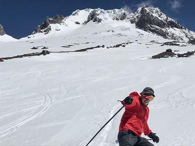 Timberline/Mt Hood skiing June 18, 2020