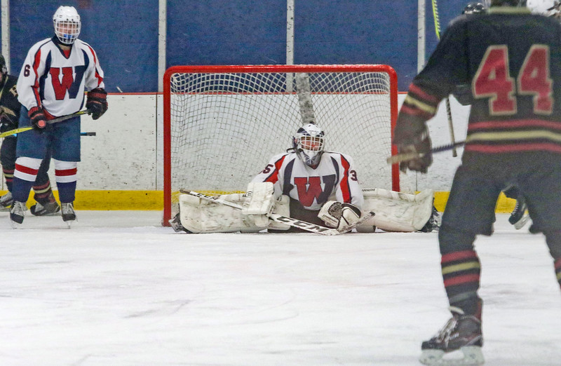 Wall v/s Hillsborough hockey in Wall, NJ on 1/4/19.