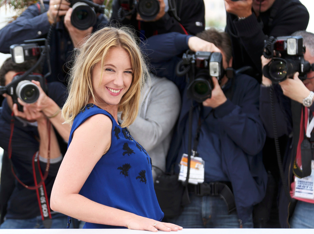 ". Jury member of Film selection ""Un Certain Regard\"" actress Ludivine Sagnier poses during a photocall at the 66th Cannes Film Festival in Cannes May 16, 2013.          REUTERS/Regis Duvignau"