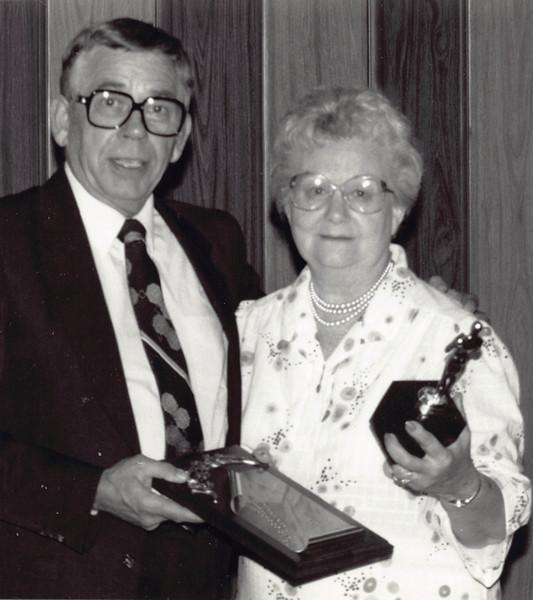 Frankie  at CAPC events printed May 1984
