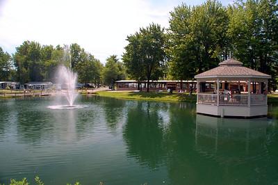 2006 Indian Creek - Northern Campground Geneva-on-the-lake, Ohio.  with KZ 2001 Sportsmen