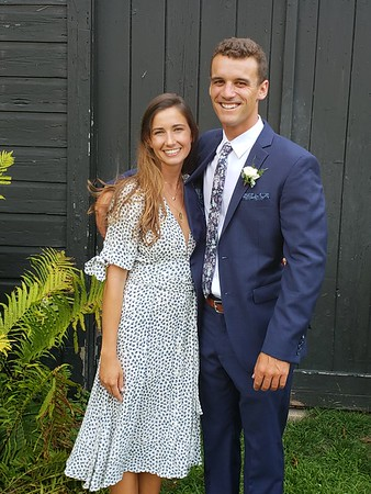 Tom and Anna's wedding