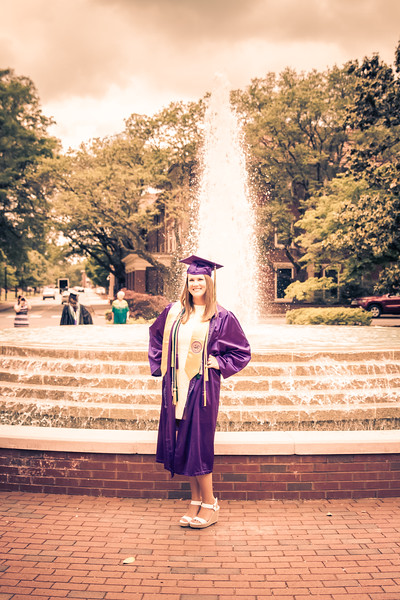 Ashlyn ECU Graduation Shoot