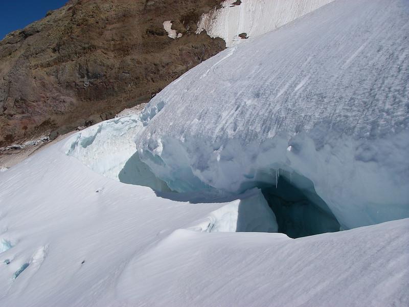 Tahoma Glacier crevasses 10
