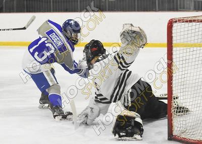 Mansfield - Attleboro Boys Hockey 2-8-21