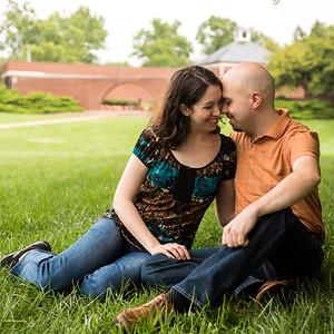 Jennifer & Brian's Engagement Portraits