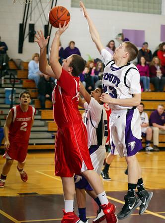 2015 Cameron County Boys JV Basketball @ Coudersport