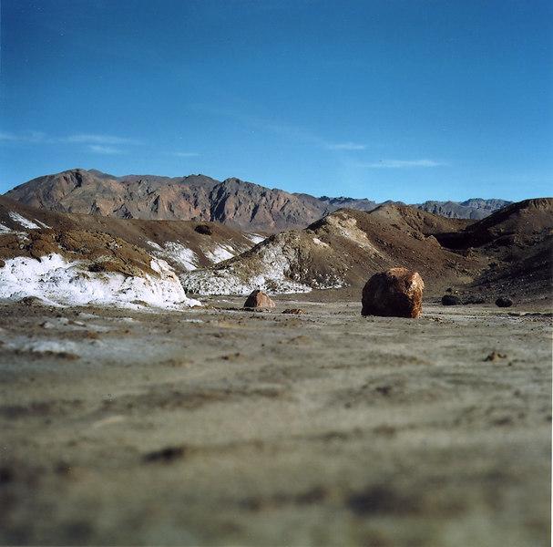 Borax Deposits, Death Valley