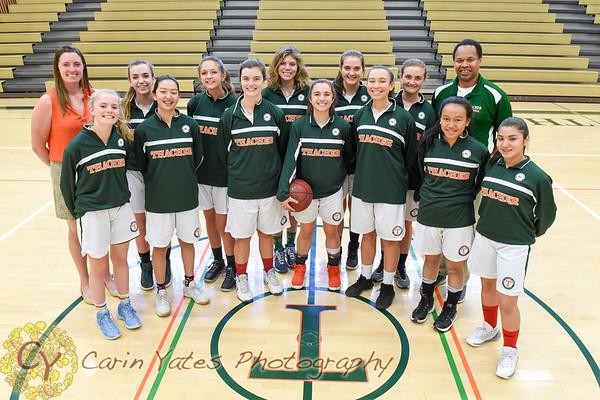 2-9-18 Girls Varsity Basketball  vs Nordhoff