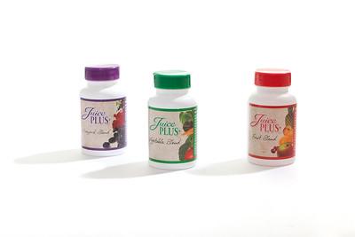 Juice Plus Product Shots