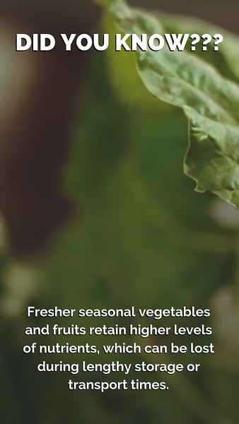 eating more local food reduces CO2 emmissions. We are proud to locally source our food - reducing the distance that our food travels from farm to consumer.mp4