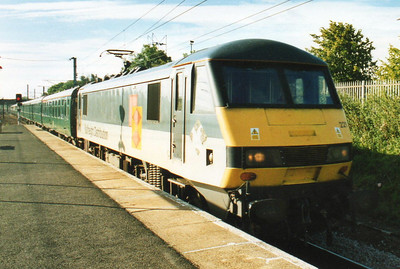 The Durham & Newcastle Merrymaker 08-09-2001