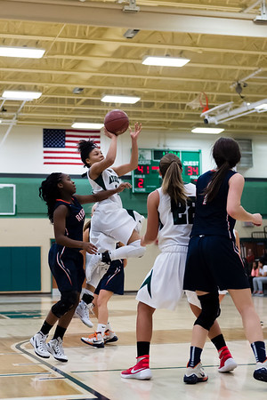 1/13/16 - Atholton Girls Varsity Basketball vs Reservoir