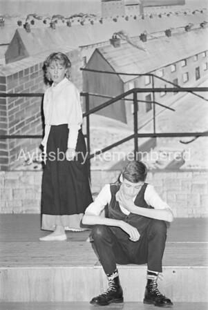 Match Girls play at Quarrendon School, Dec 1984