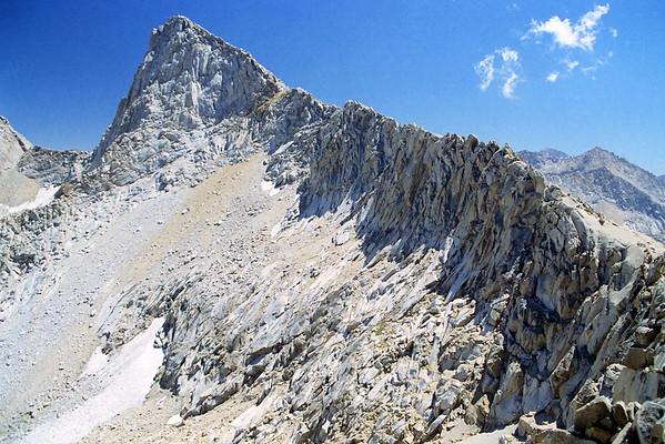 Columbine Lake Trip + Sawtooth Peak Ascent I, August 2001