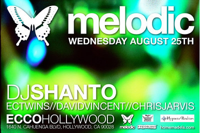 Melodic @ Ecco Hollywood 8.25.10