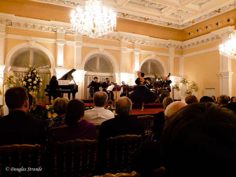 Concert at a Vienna music hall
