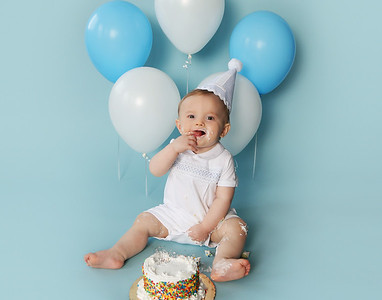 Wesley's 1st Birthday Session