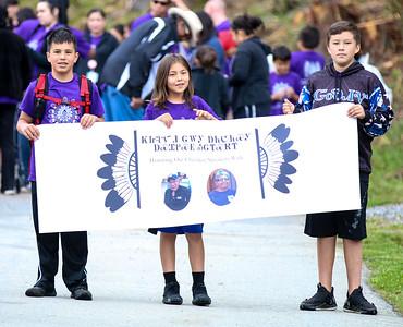 Honor the Cherokee Speakers Walk, April 26
