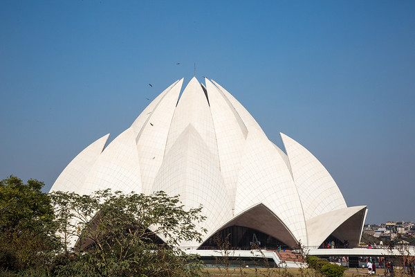 The Lotus Temple - December, 2015