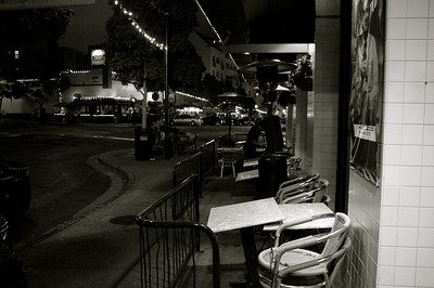 Little Italy - Black & White