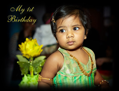 Dhrithi's 1st Birthday Album