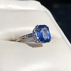 Vintage-Inspired and Contemporary 3.03ct Blue Sapphire Ring (GIA, No-Heat)) 10