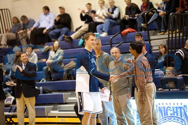 Men's Basketball - Honoring Faculty