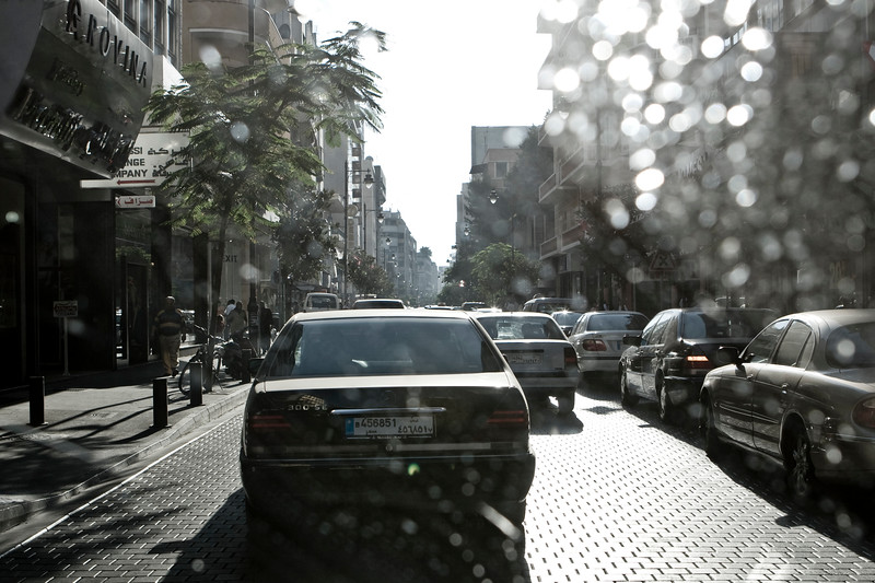 Traffic on Hamra - Beirut - بيروت