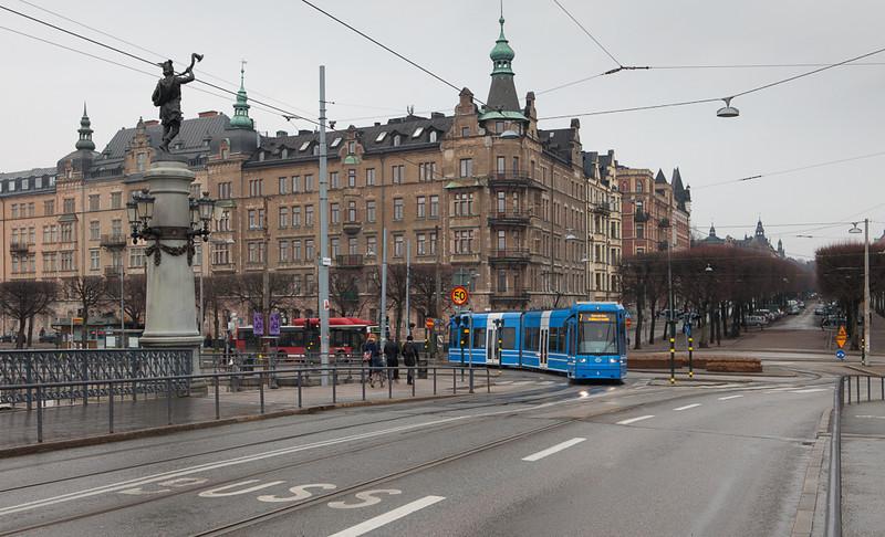 Strandvägen - Djurgårdsbron.