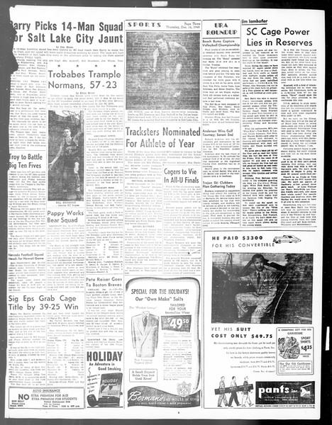 Daily Trojan, Vol. 40, No. 66, December 16, 1948