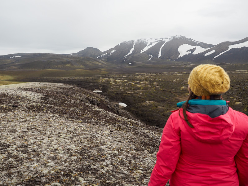 Near the Hekla volcano