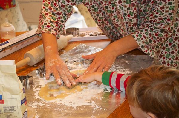 12-09 - Making Christmas Cookies - Smyrna, GA