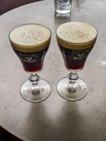We couldn't take the tour, but Beth and I had outstanding Irish Coffee