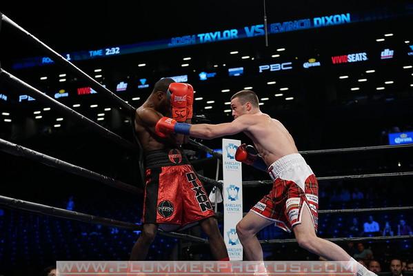 Josh Taylor Defeats  Evincii Dixon by 1st Round TKO