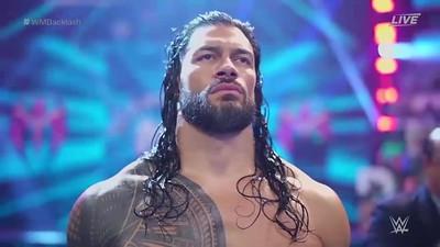 Roman Reigns - Screencaps / WM Backlash May 16, 2021