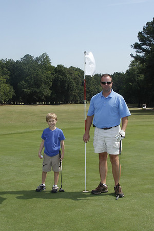 Golfing with Daddy