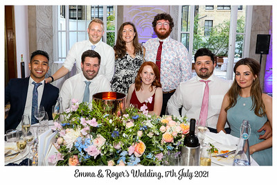 Emma & Roger 17th July 2021