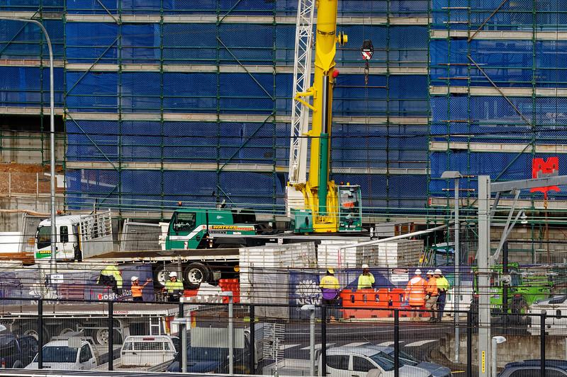 Gosford Hospital building progress H51ed October 2018.