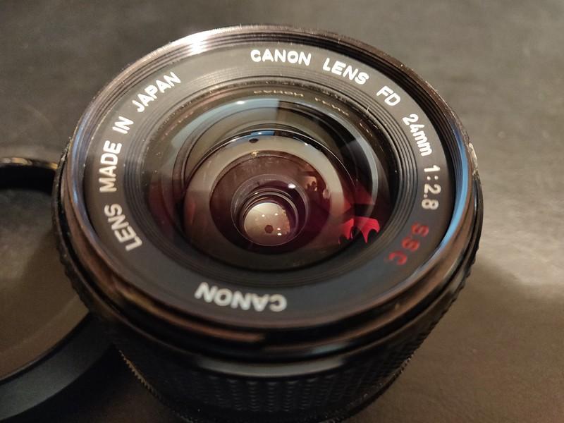 Canon FD 24 mm 2.8 S.S.C. - Serial N200 & 40368 007.jpg