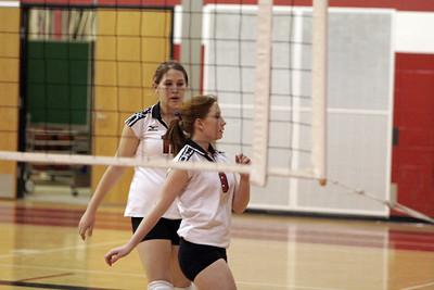 Girls Freshman Volleyball - 2006-2007 - 2/19/2007 Hart